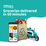 Sixty 60 Grocery App Checkers