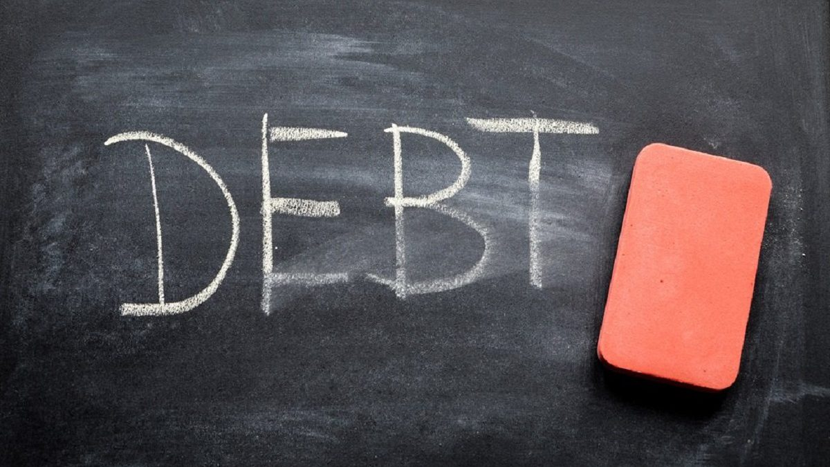 What does written off debt mean